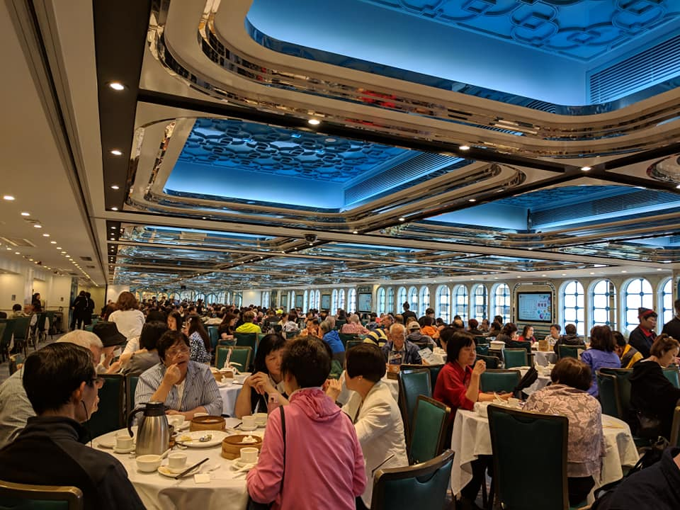 Dim Sum Restaurant in Hong Kong